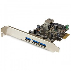 Startech carte PCI-E USB3*3+1