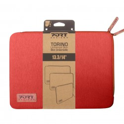 Port Designs Torino Sleeve 13./14 Rouge