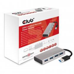 Club 3D USB 3 Hub 4 Ports