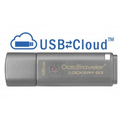 Kingston Technology DataTraveler Locker+ G3 16GB